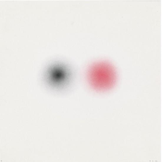 Transit 8, Aquarellstift auf Papier, 38 x 38 cm, 2013